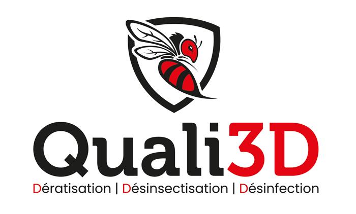 Logo de Quali3D, pour lutter contre les insectes nuisibles de manière naturelle.